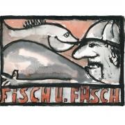 """Fisch u. Fasch (aus der Serie """"2 in a box""""), 2017, Fineartprint auf Hahnemühle Photo Rag Bright White 310 g/m, 40 x 50 cm, Auflage: 20 Exemplare"""