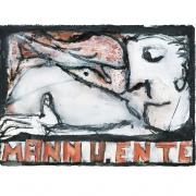 Mann u. Ente, 2017, Fineartprint auf Hahnemühle Photo Rag Bright White 310 g/m, 40 x 50 cm, Auflage: 20 Exemplare