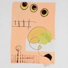 o:T.; Acryl, Grafit auf Papier, 40 x 30 cm; 2009