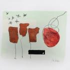 o:T.; Acryl, Grafit auf Papier, 30 x 40 cm; 2009