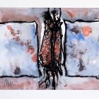 o:T.; Öl, Pigment auf Papier; 50 x 70 cm; 2013