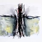 o.T.; Öl, Acryl, Kreide auf Papier; 70 x 50 cm; 2013