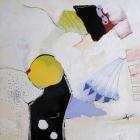 o:T.; Öl, Acryl, Grafit auf Hartfaser; 60x 60 cm; 2008