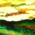 o.T.; Öl, Pigment auf Leinwand, 60 x x 150 cm, 2007