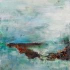 o.T.; Öl, Pigment auf Leinwand; 120 x 70 cm; 2013