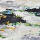 o.T.; Öl, Pigment auf Leinwand; 70 x 120 cm; 2013