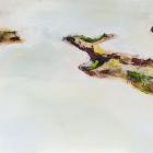 o.T.; Öl, Pigment auf Leinwand; 70x 190 cm; 2014