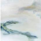 """o.T.; (Aus der Serie """"Mündungsgebiete""""), Öl, Pigment auf Leinwand; 100x200 cm; 2013"""