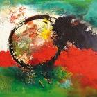 o:T.; Öl, Pigment auf Leinwand; 60 x 80 cm; 2011