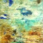 o.T., Öl, Pigment auf Leinwand, 120 x 80 cm, 2004
