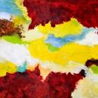 o:T.; Öl, Pigment auf Leinwand; 200 x 650 cm; 2012