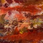 o.T., Öl, Pigment auf Leinwand, 90 x 130 cm, 2002