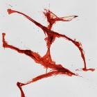 Tangoversuch, Chinatusche auf Papier, 40 x 30 cm, 2011