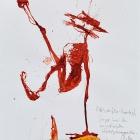 Esteban, Chinatusche auf Papier, 40 x 30 cm, 2011